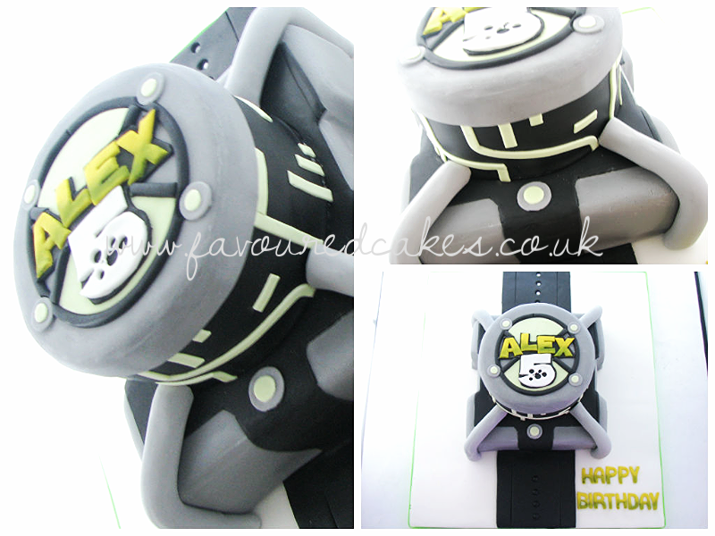 Ben 10 Omnitrix Watch Cake B10