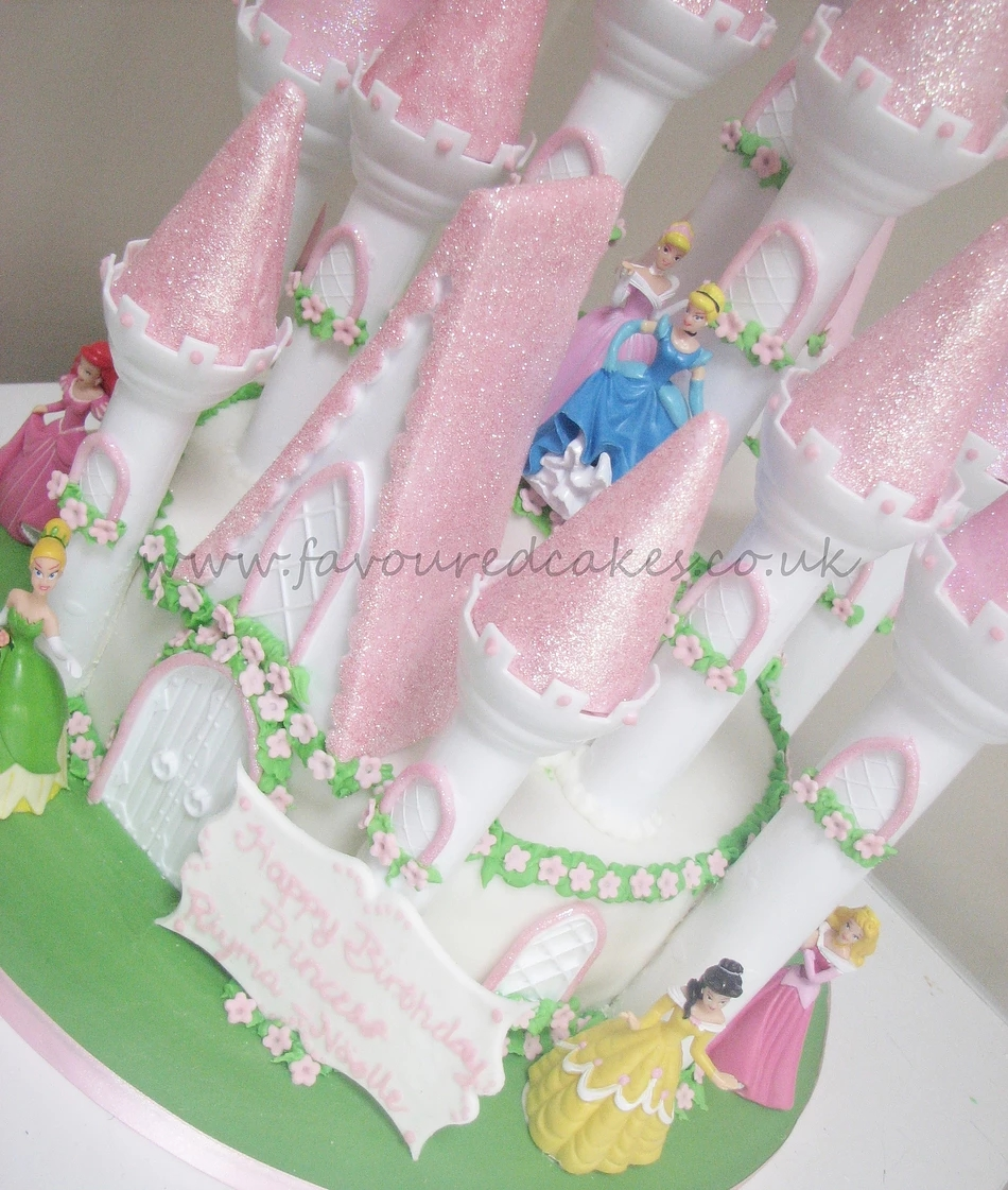 Princess Castle Cake PR02