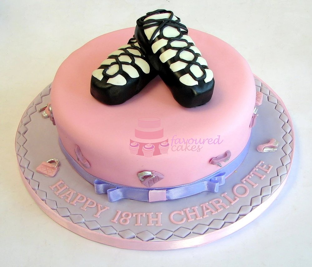 Irish Dance Shoes Cake SH01