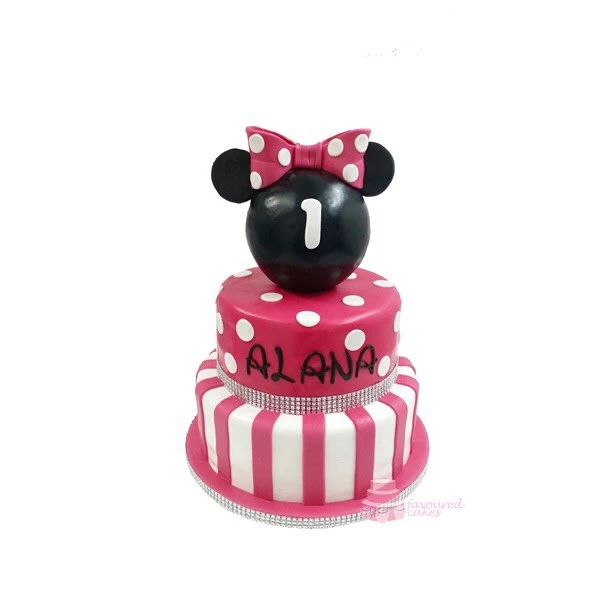 Minnie Mouse Tiered Cake MM10