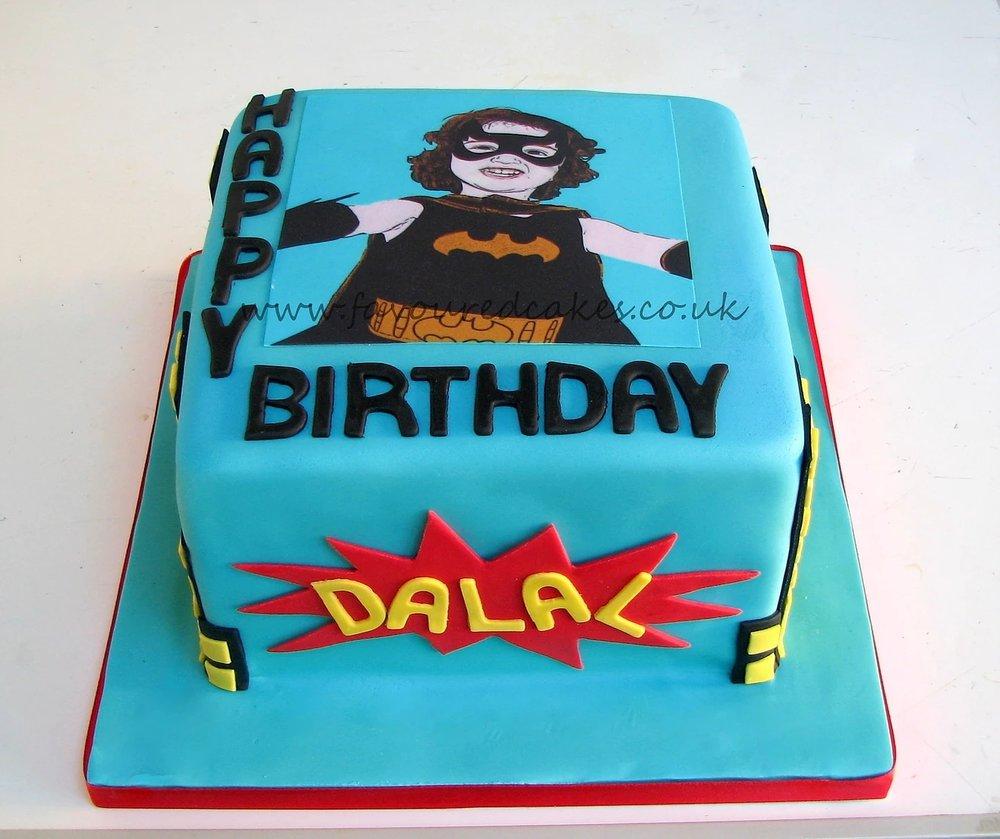 Gotham Popart City cake BM02