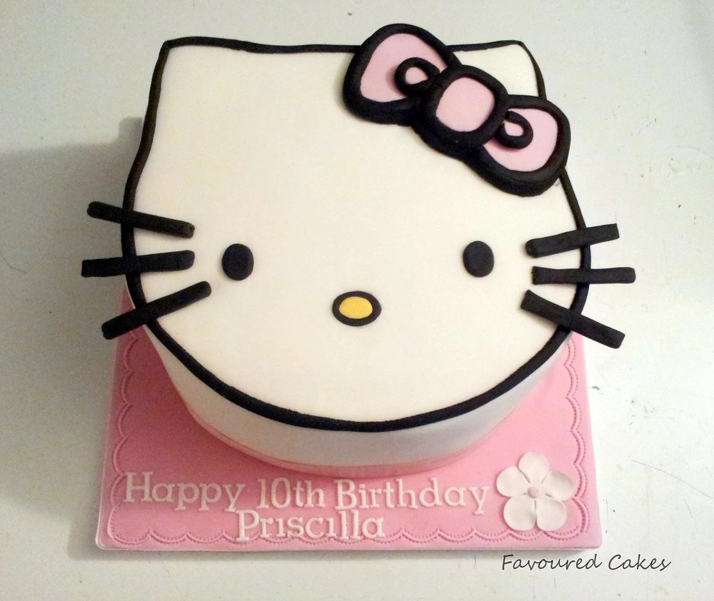Hello Kitty Face Cake HK05