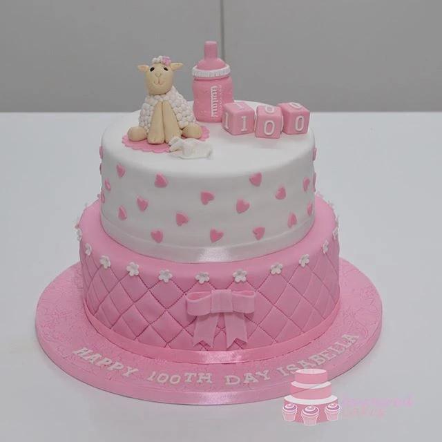 Baby Lamb Tiered Cake