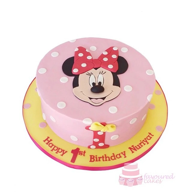 Minnie Mouse Cut-out cake MM09
