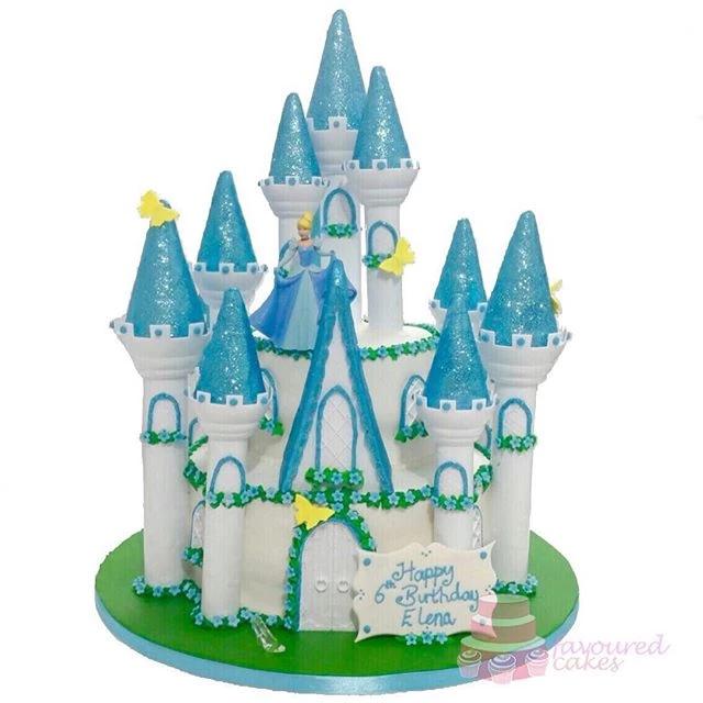 Cinderella Princess Castle Cake PR03