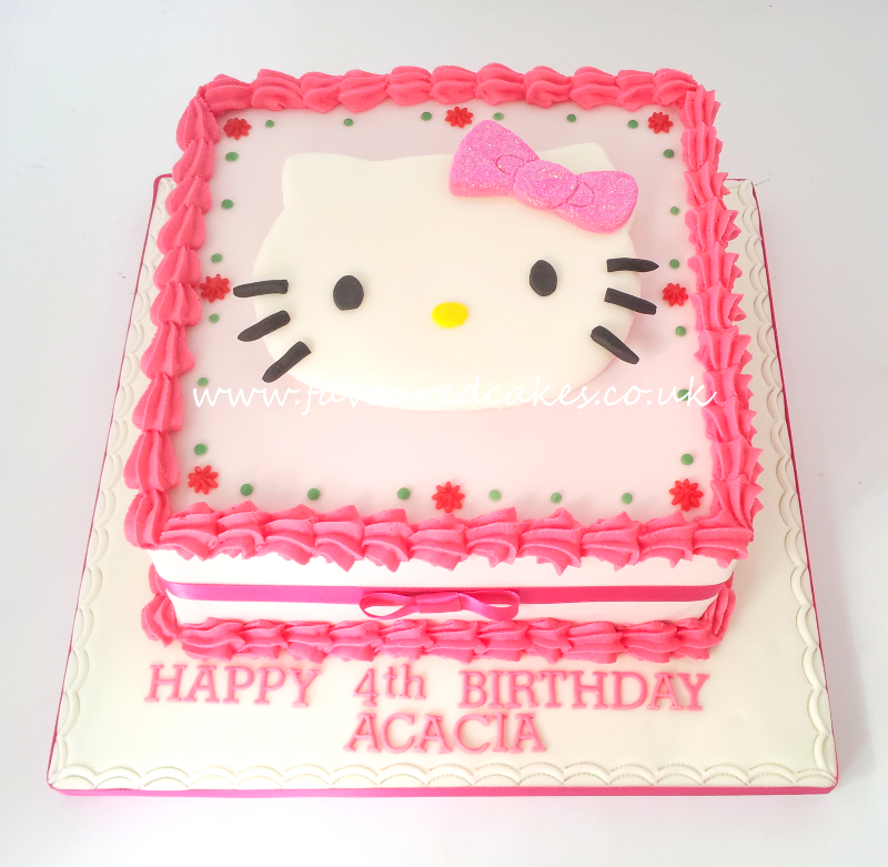 Hello Kitty Square Cake HK04