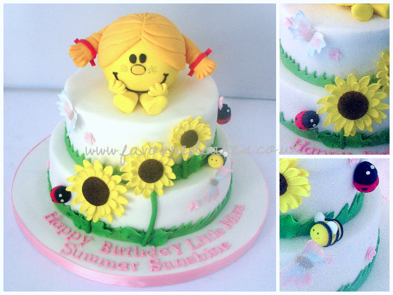 Little Miss Sunshine Cake MM01