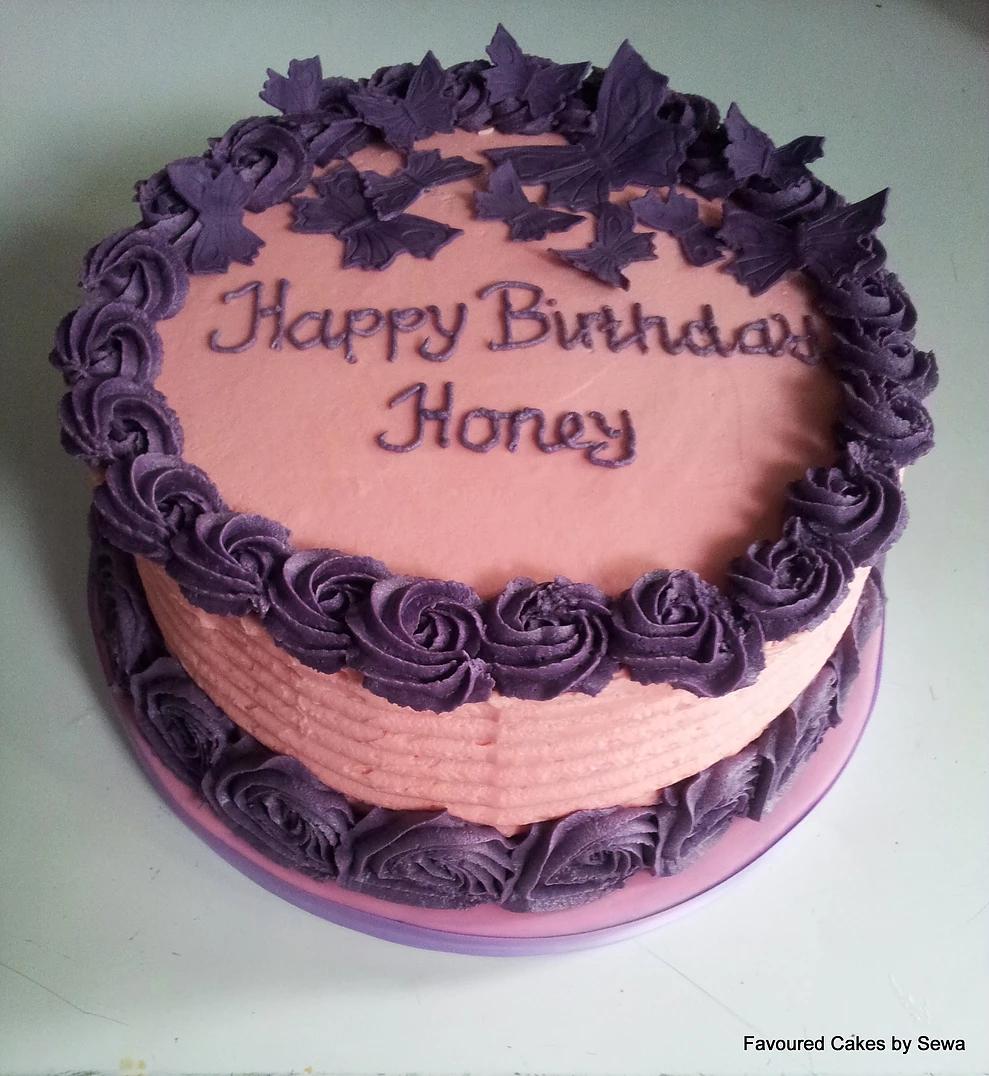Butterfly Cake (Buttercream)