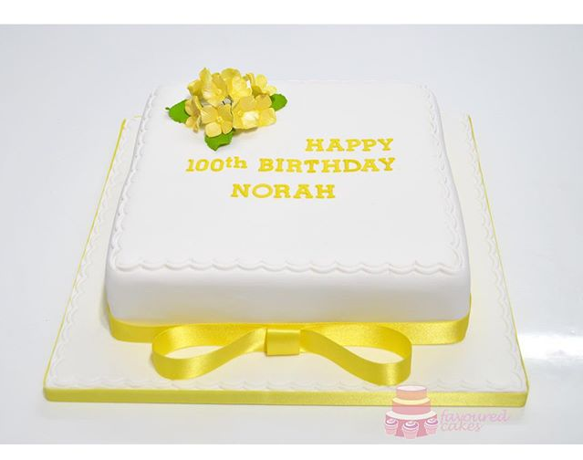 Lemon Posy Cake