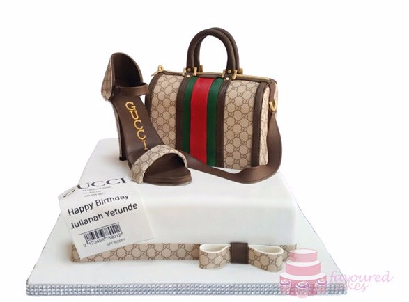 Gucci Shoe & Bag Cake G03