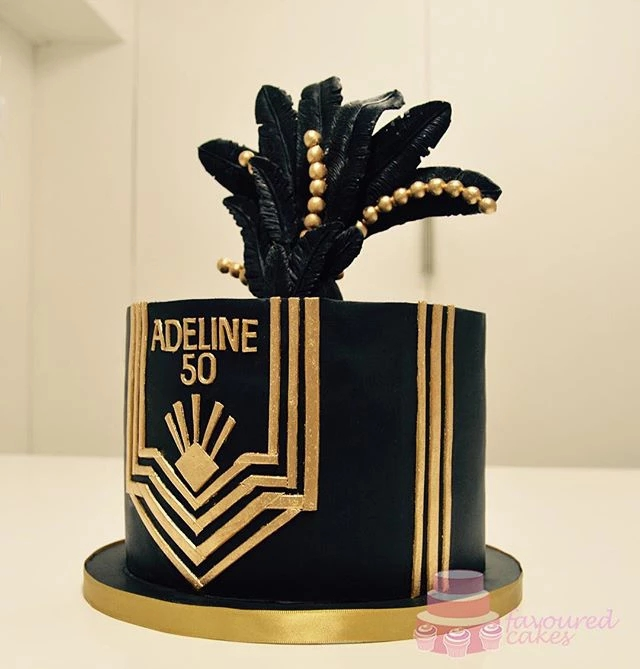 The Great Gatsby Cake 1920s Cake