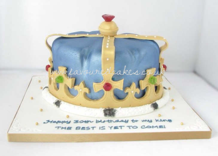 Crown Cake CR01