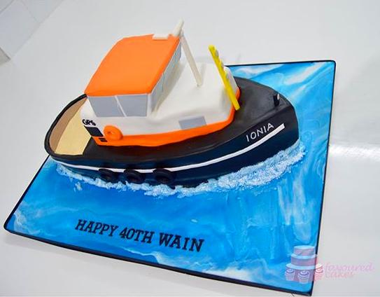 IONIA Tugboat Cake