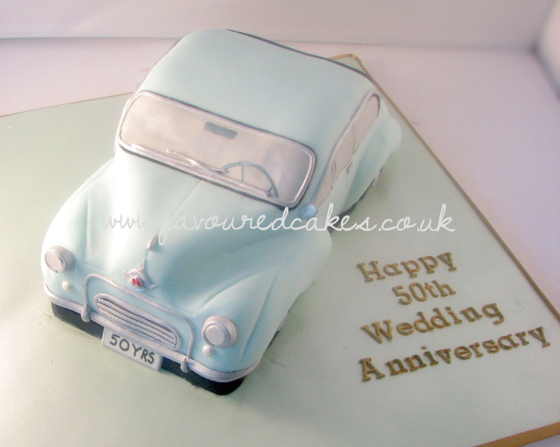 Morris Minor Car Cake CC03