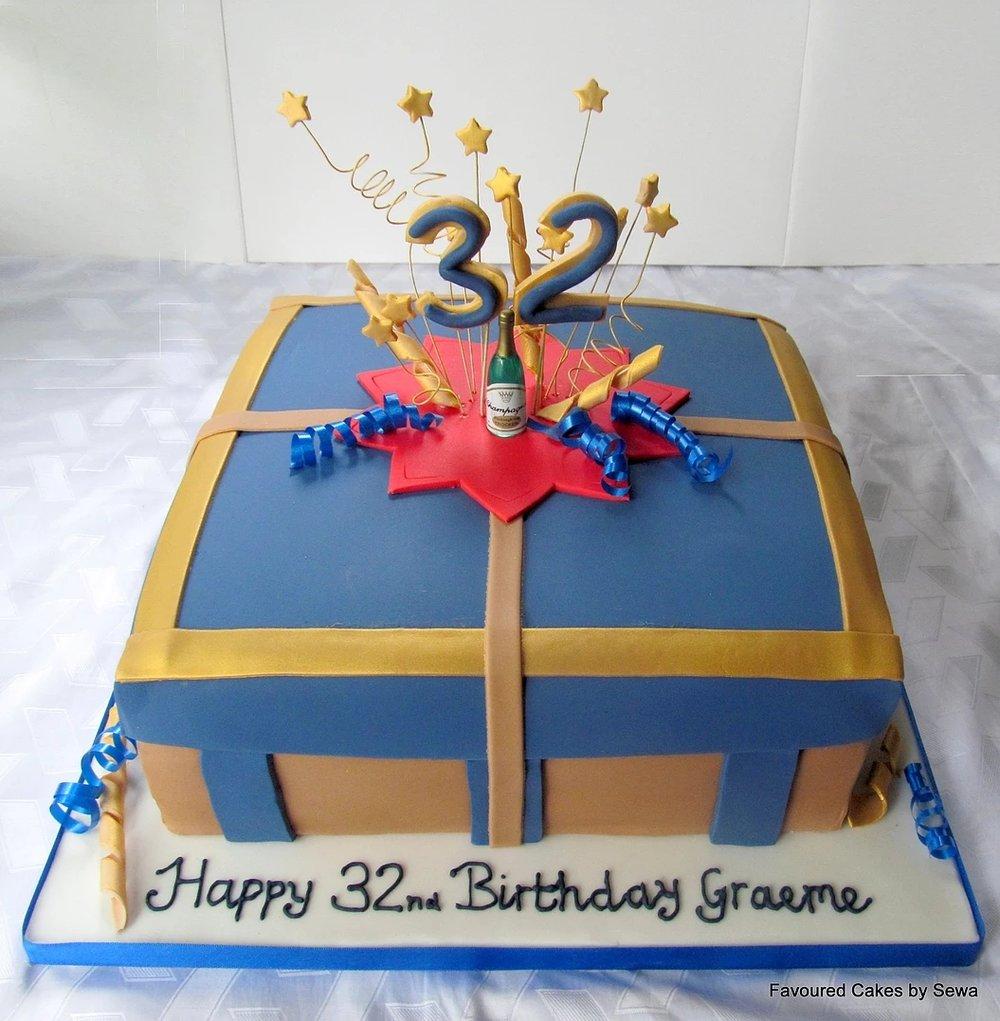 Gift Box Cake GB01