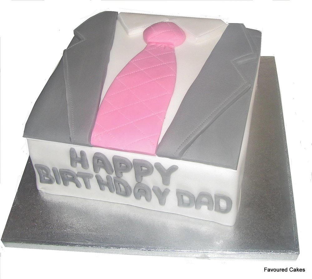Suit and Tie Cake SC01