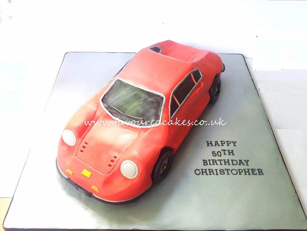 Ferrari Dino Car Cake CC05