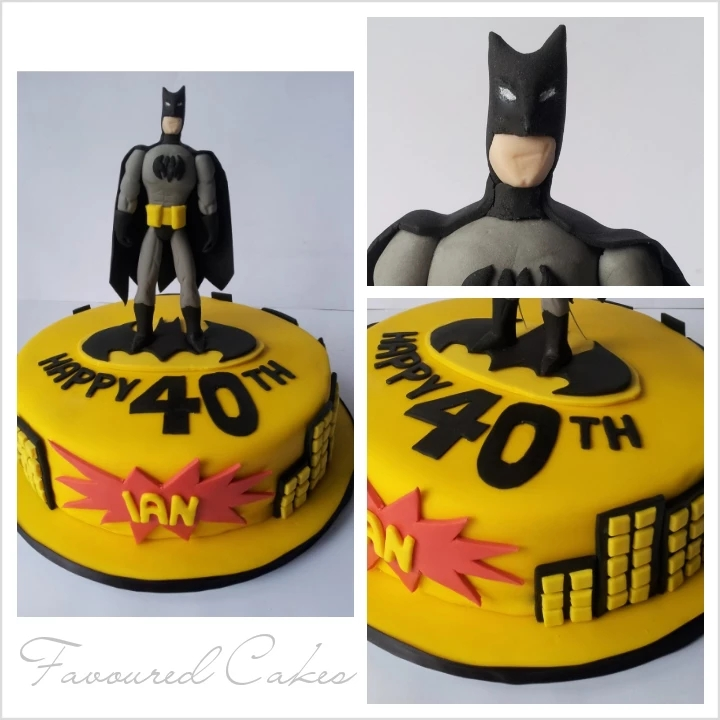 Batman Gotham City Cake BM01