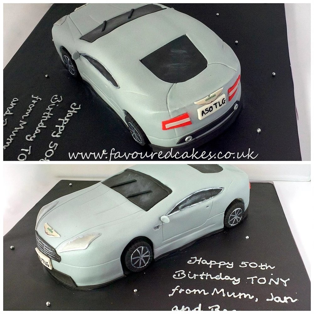Aston Martin Car Cake CC04