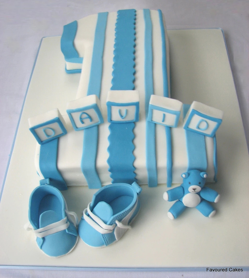 Large Number 1 Stripes & Puma Cake