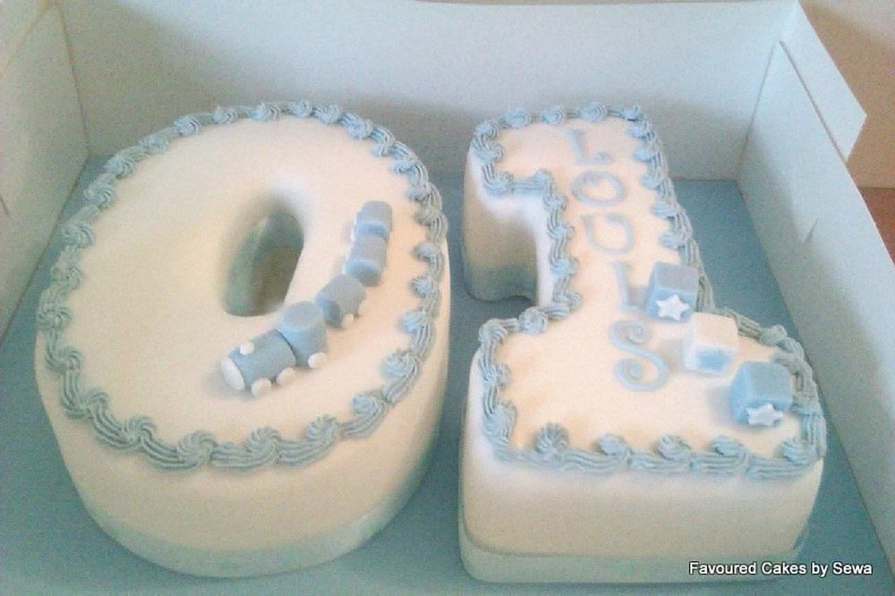 01 Number Cake