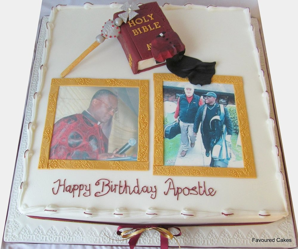 Bespoke Picture Frame Cake