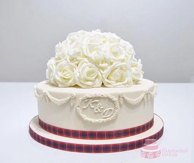 Rosanna Wedding Cake