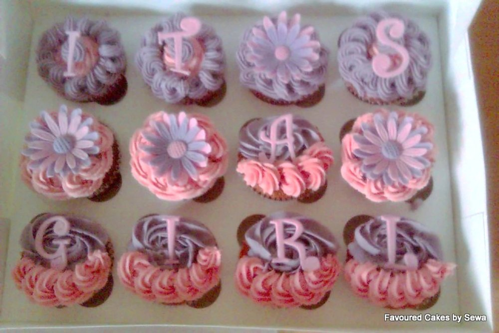 'Its a Girl' Cupcakes