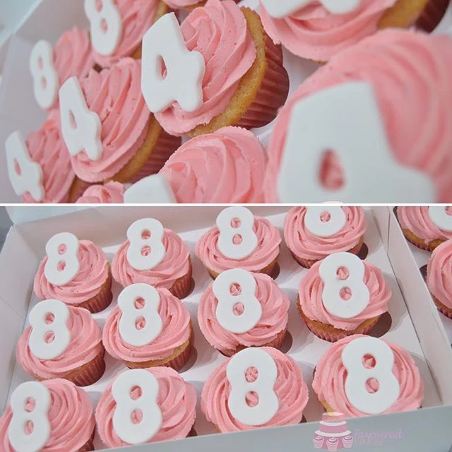 Special Number Cupcakes