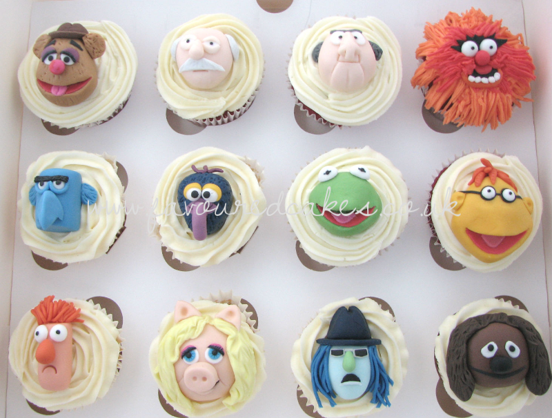The Muppets Cupcakes