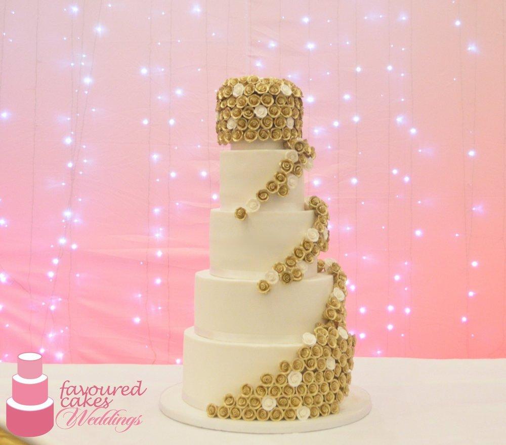 Wedding Cakes — Favoured Cakes || Belvedere, Bexley, Kent