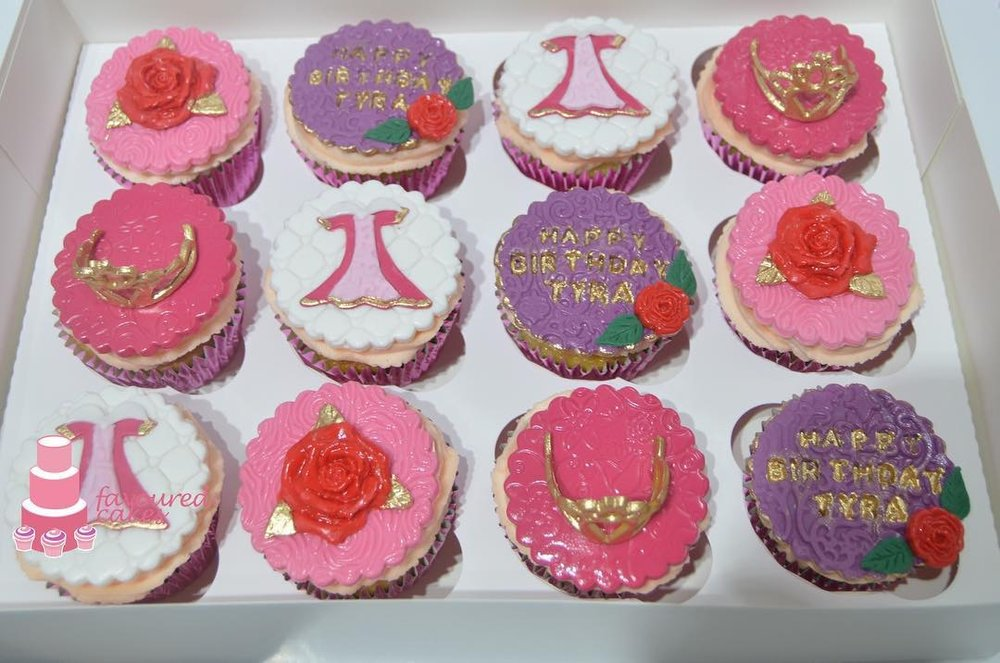 Sleeping Beauty Cupcakes