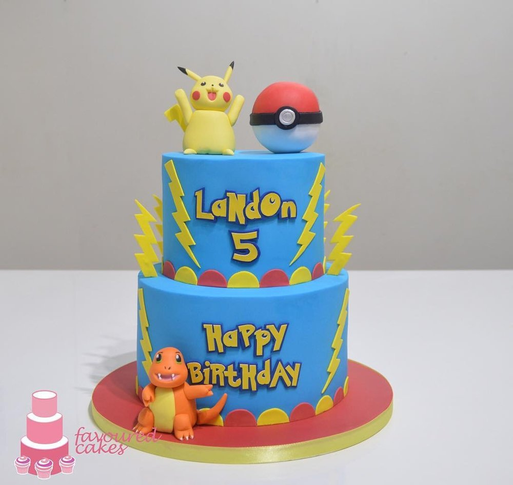 Pokemon Tier Cake