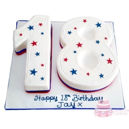 18 Number Cake ST18