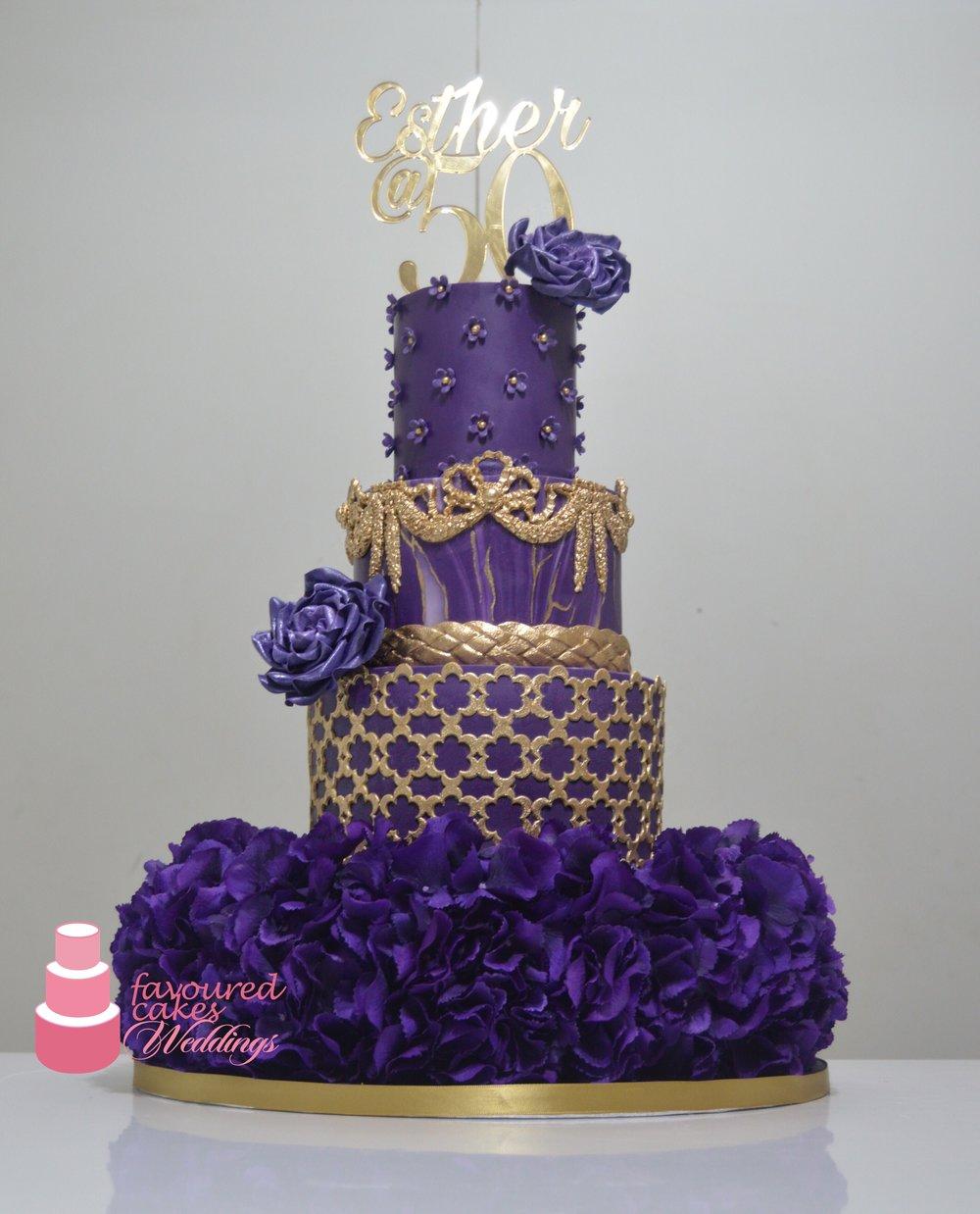 Yolanda Wedding Cake