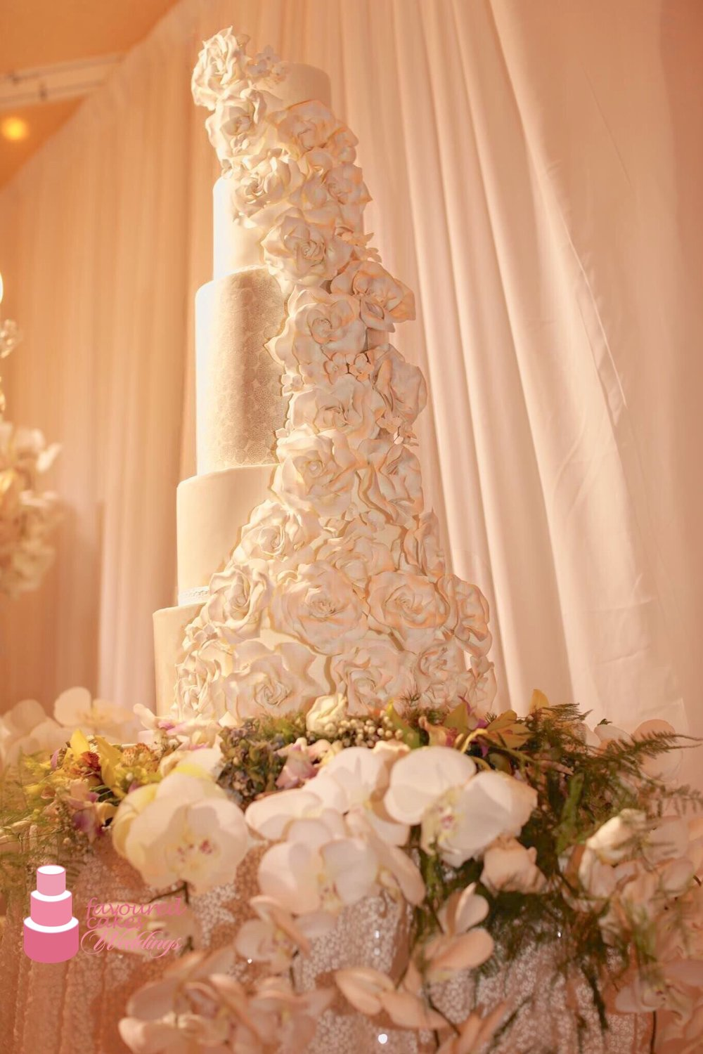 Cassandra Wedding Cake