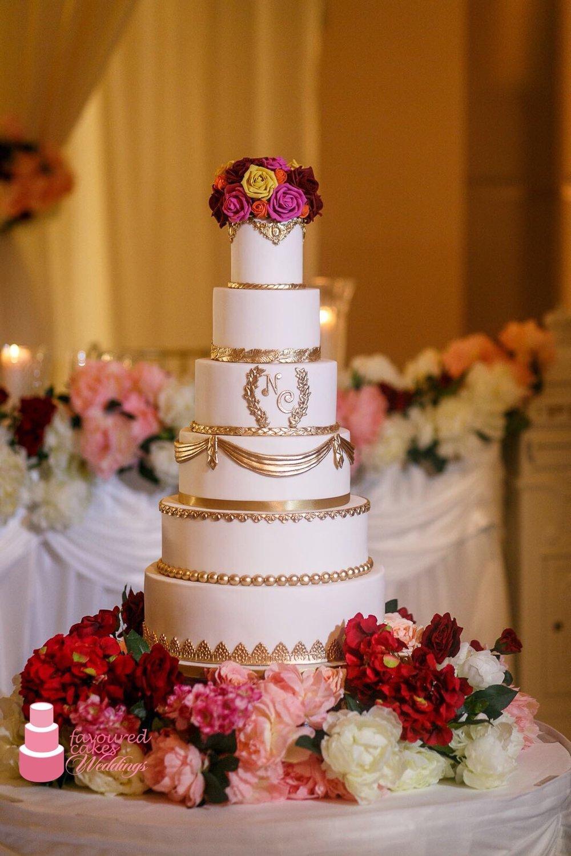 Elizabeth Rococo Wedding Cake