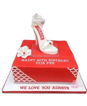 Stiletto Shoe Cake SH07