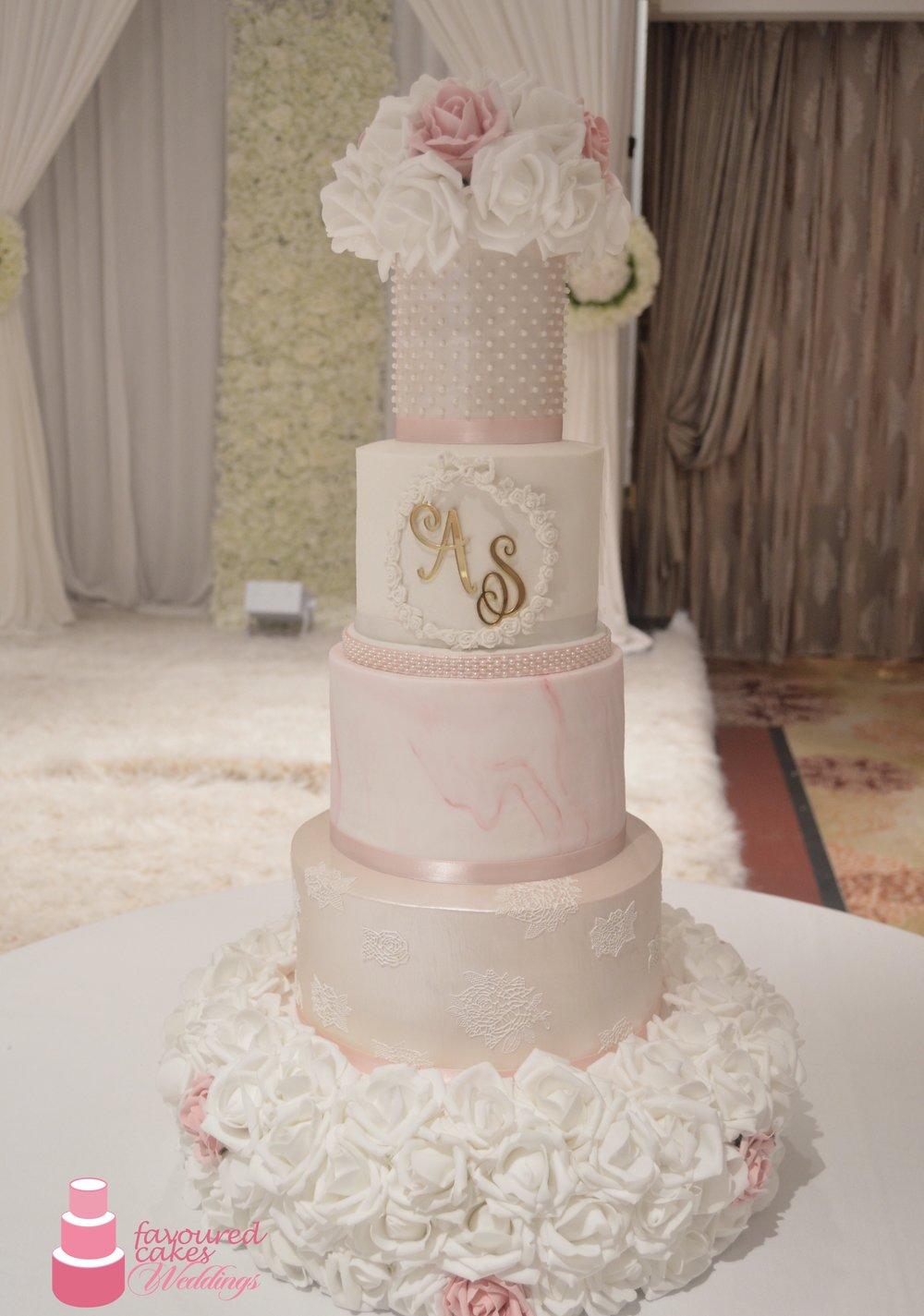 Rosa Wedding Cake