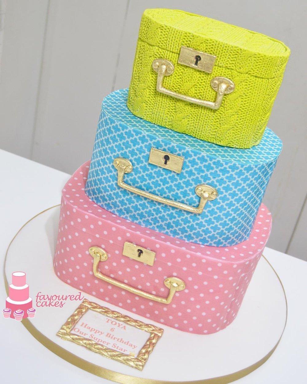 Vanity Boxes Cake