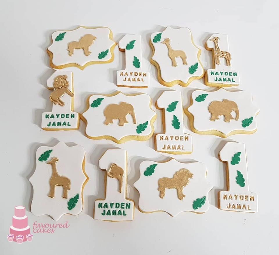 Safari Wild One Cookies