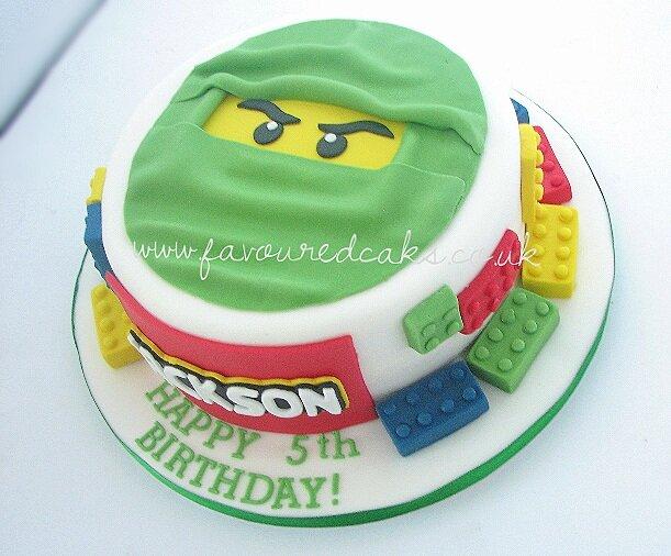 Ninjago Lego Cake NL01
