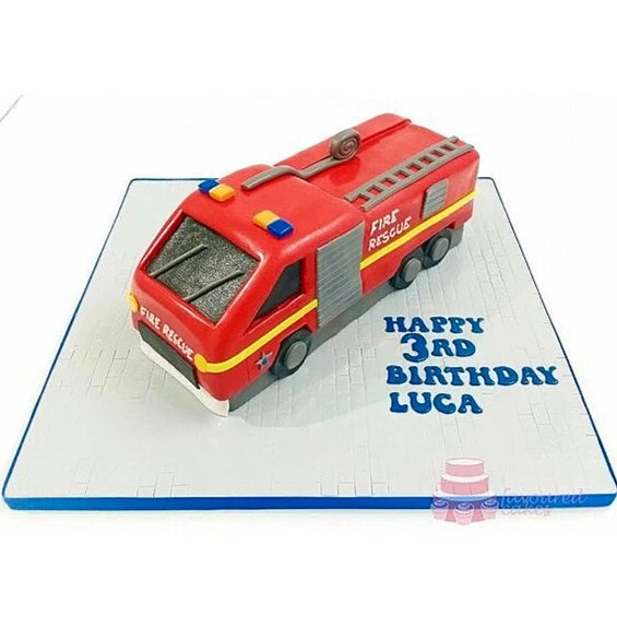 Fire engine cake FE01