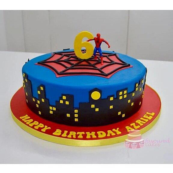 Spider-Man Cake SM4