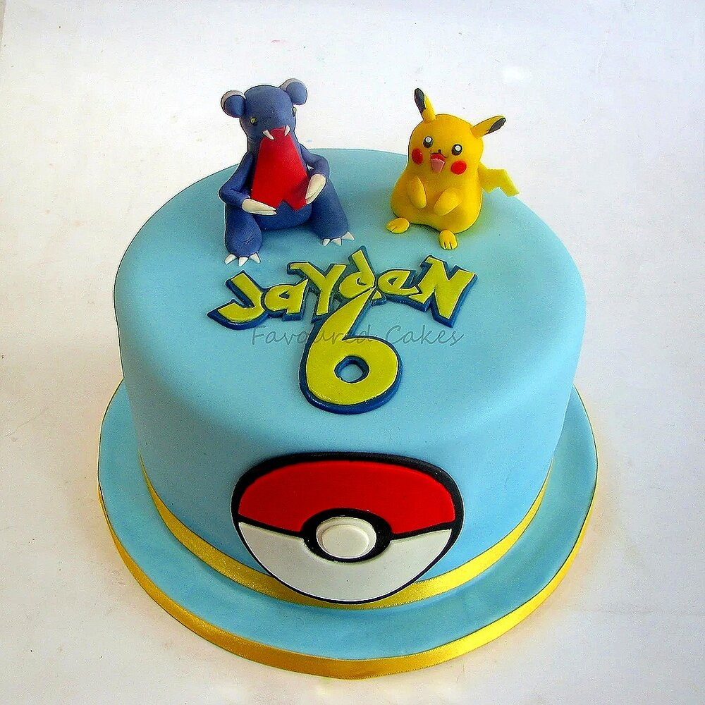 Pokemon Character Cake PK01