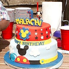 Mickey Mouse Cake MK04