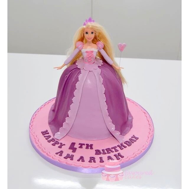 Rapunzel Princess Doll Cake PP04