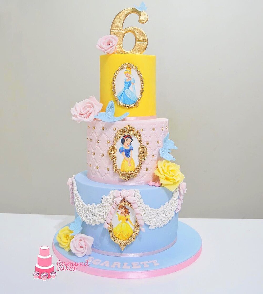 Disney Princess Cake DPR4