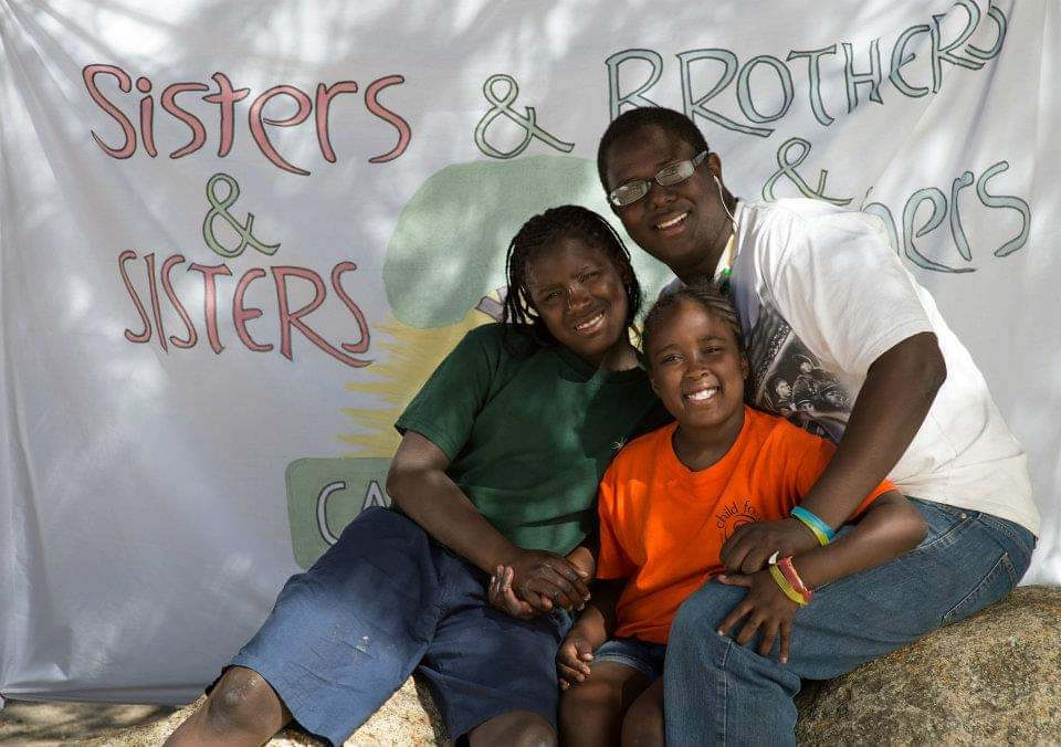 sibling group at camp to belong