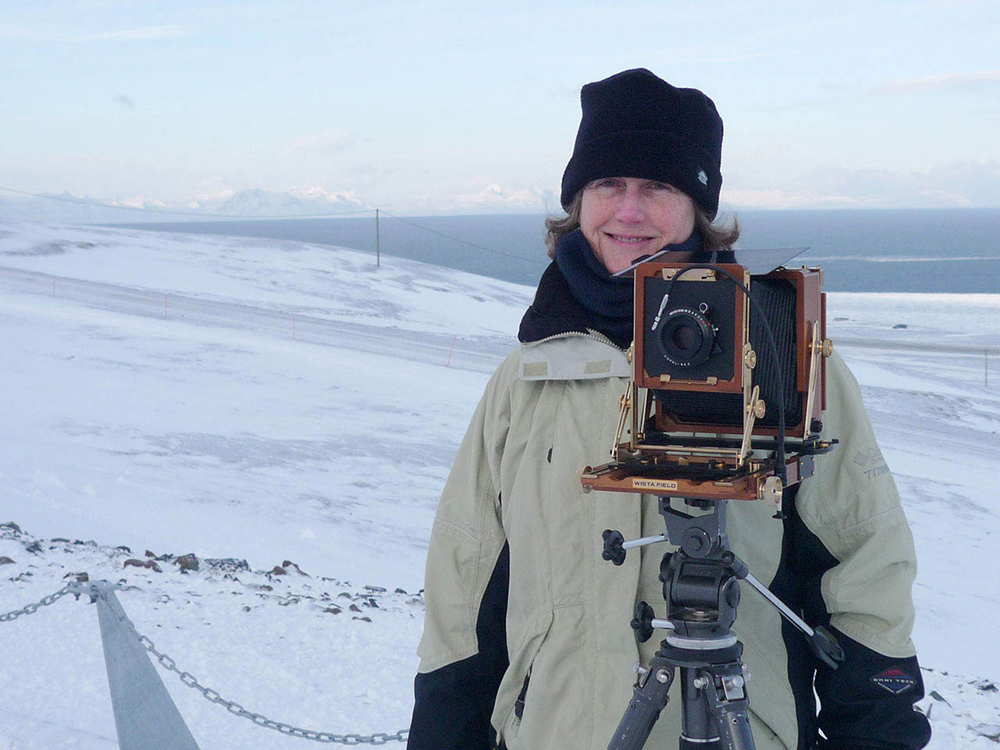 Dornith Doherty in Svalbard with her view camera 3inWat 300ppi.jpg